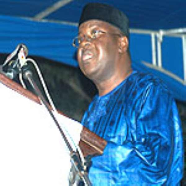 Vice President of Ghana, Alhaji Aliu Mahama